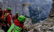 Tragedia sul Civetta, giovane alpinista precipita e perde la vita