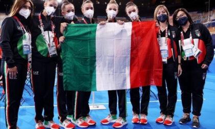 Olimpiadi di Tokyo: i complimenti di sindaco e vicesindaco alla Maccarani e alla Farfalle