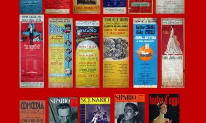 """""""Teatro del '900"""", in mostra programmi di sala, locandine e riviste"""
