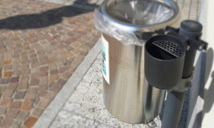 """Mozziconi: il Comune """"attrezza"""" i cestini"""