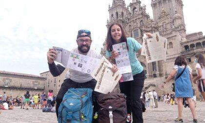 Il 37enne Vitali sfida il morbo di Crohn affrontando il Cammino di Santiago