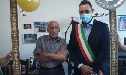 Castano Primo festeggia i 101 anni di Paolo Noè