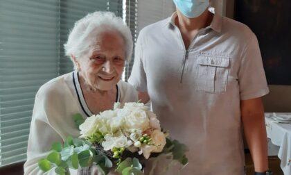 Parabiago festeggia i 103 anni di Carla Musazzi