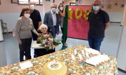 Parabiago festeggia la sua donna più longeva: Elia Buchetti spegne 108 candeline