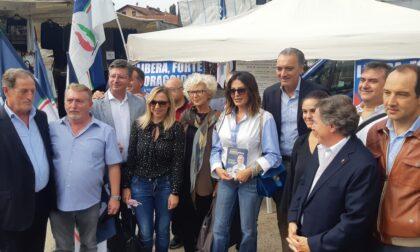 Parata di politici a Nerviano: c'è la Santanché