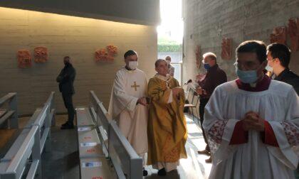 Monsignor Delpini a Legnano per la la chiesa di San Giovanni
