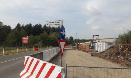 Una nuova strada per la piattaforma ecologica e l'impianto Forsu