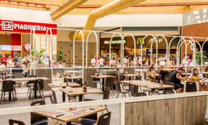 Terminato il restyling della Food Court a Il Centro di Arese