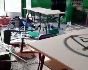 Vandali in azione al quagliodromo