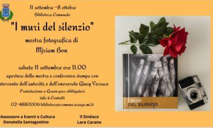 """Mostra fotografica """"I muri del silenzio"""" di Myriam Bon, a favore delle vittime di violenza"""