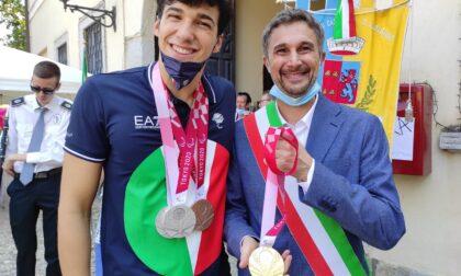 Cassinetta celebra il suo campione Simone Barlaam