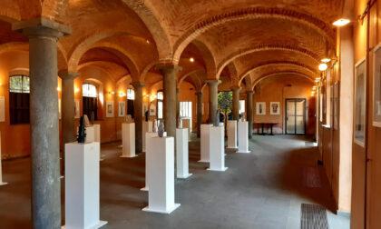 Mostra di Sergio Colleoni: Tracce - Percorsi. L'artista regala alla città L'Albero della Vita