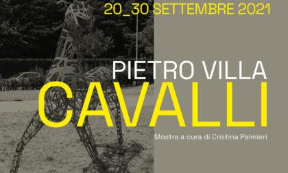 """Pietro Villa e la sua mostra """"Cavalli"""" a Rho"""