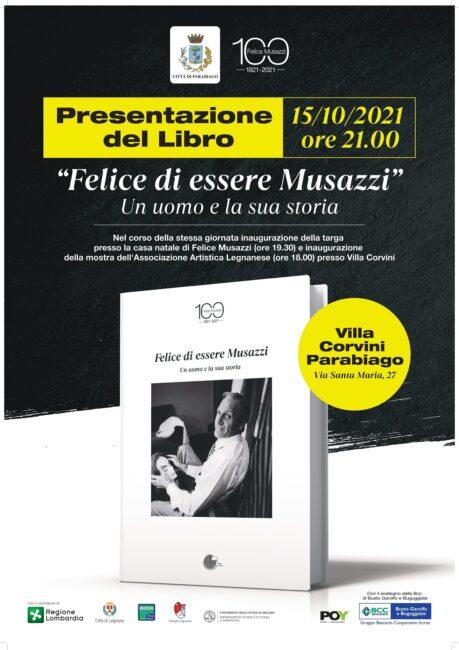 Parabiago, presentazione libro Felice Musazzi per centenario