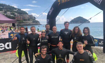 Nuotatori del Carroccio, la squadra Open water chiude l'estate a Bergeggi