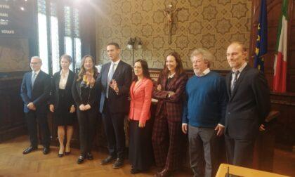 Il sindaco Orlandi presenta la sua squadra di governo