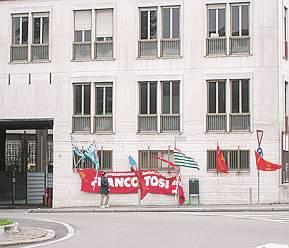 Ex Franco Tosi: aggiudicate l'area blu, la palazzina uffici e quella sopra l'ingresso