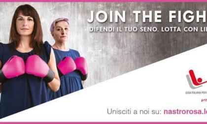 La città si colora di rosa per la lotta contro i tumori