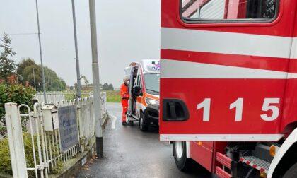 Fuga di gas: ambulanza e vigili del fuoco a Vermezzo